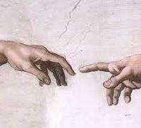 Gods hand image